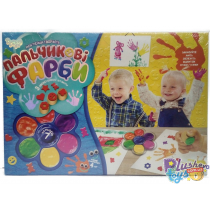 Пальчиковые краски Danko-Toys 7 цветов