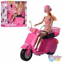 """Кукла типа Барби Defa Lucy """"Fashionable Scooter"""" Модный Мопед"""