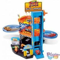 """Детский Паркинг Burago """"Street Fire"""" Трёхэтажный 18-30361"""