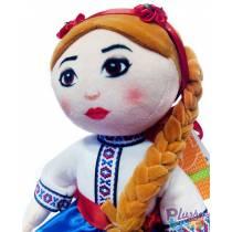 """М'яка Лялька """"Українка"""" 00417-12 Копиця"""
