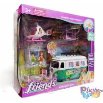 "Игровой Набор Friends ""Mini Bus"" Мини Автобус 7891"