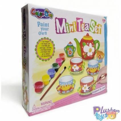 Керамическая Посудка Mini Tea Set 8854 Для Разукрашивания
