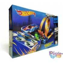 Трек Типа Hot Wheels 9988-52A Запуск По Мишени