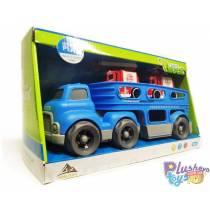 Автовоз Kinetic Truck 933-155 С Разборными Машинками
