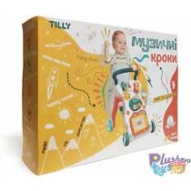 """Развивающая Каталка """"Музыкальные Шаги"""" Tilly  UA0801"""