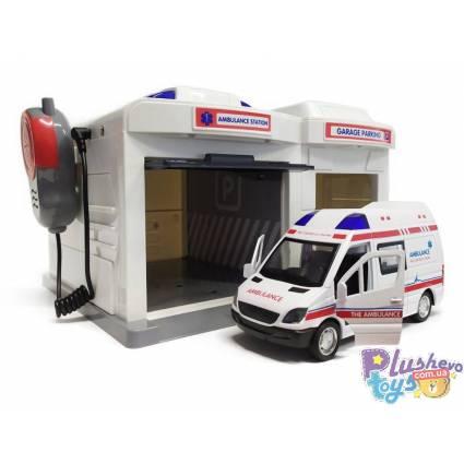 Гараж скорой помощи Ambulance Caller Garage CLM-556