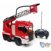 Пожарная машина на пульте SYRCAR Fire Resque 666-191A