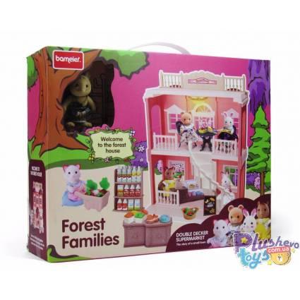 Домик для фигурок Bameier Мышка Forest Families SD881