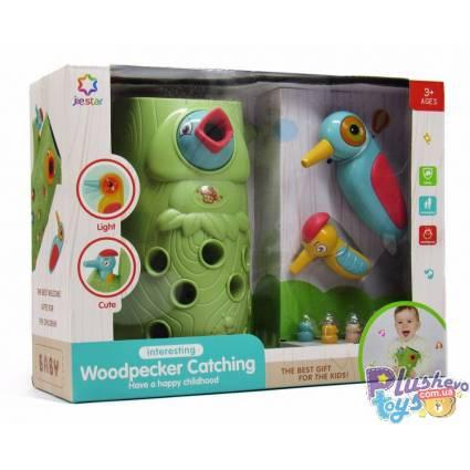 """Детская игра магнитный дятел Jiestar """"Woodpecker Catching"""" 25858E"""