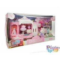 Мебель для фигурок Yasini Магазин одежды 6631