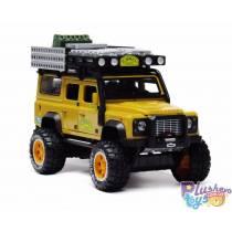 Машинка Land Rover Defender Автопром Бежевый 7680-1