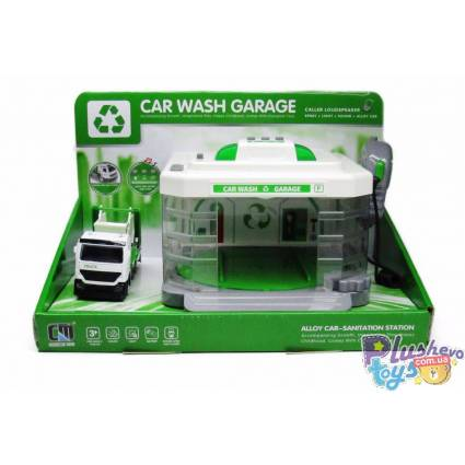 Гараж автомойка Car Wash Carage Мусоровоз CLM-886