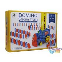 Поезд-домино BYT Domino Steam Train BY-4003C