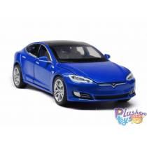 """Машинка """"Автопром"""" Tesla Model S Красная 6614"""