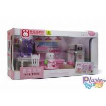 Кухня для кроликов Pink Rabbit Family 777-13