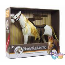 Белая лошадь Horse Toy Series 2018-7-8