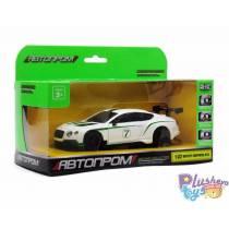 """Моделька """"Автопром"""" Bentley Contitental GT3 7609"""