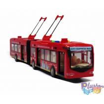 Троллейбус Rui Jia Красный City Service RJ3346B