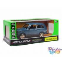 "Машинка ""Автопром"" Нива Зелена ВАЗ 21214"