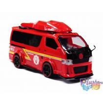 Автобус красный Plastic Colllection Автопром 7968