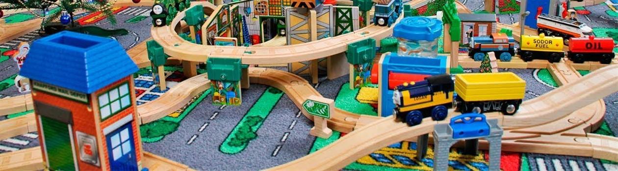Детские железные дороги в магазине PlushevoToys