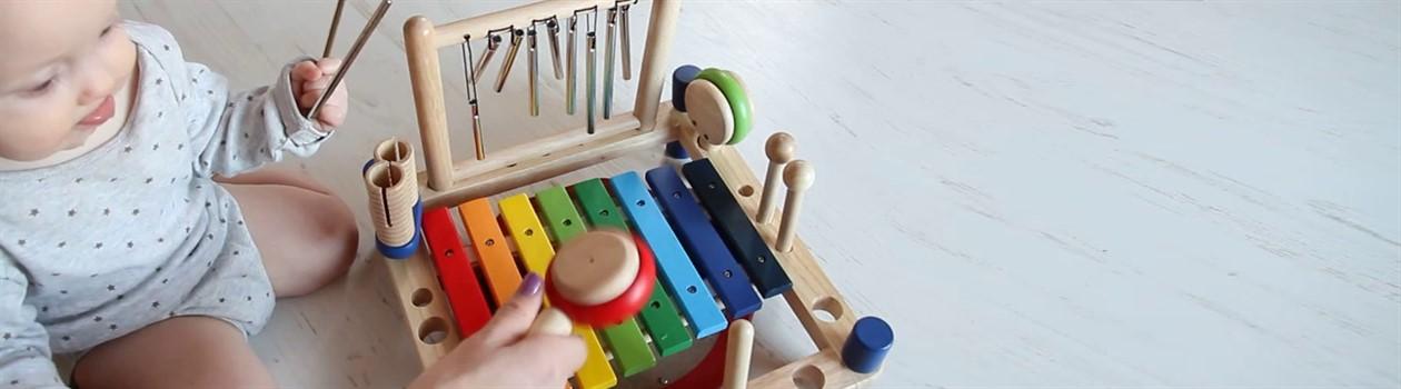 Музичні іграшки та інструменти в магазині PlushevoToys